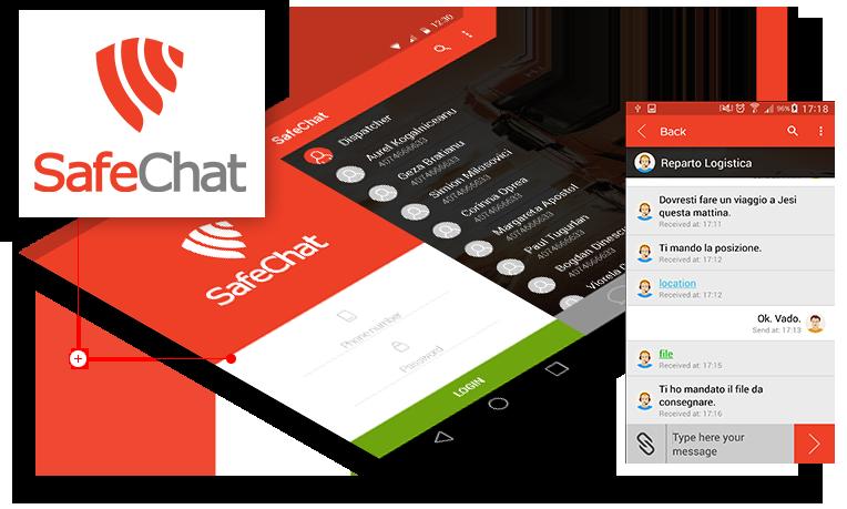 App per comunicare con conducenti