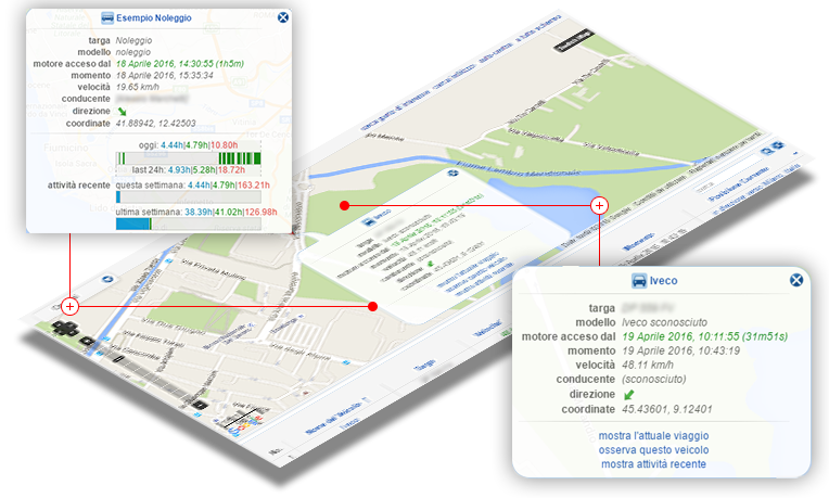 Mappe GPS per camion